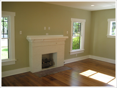 Craftsman After Living Room