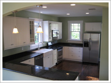 Craftsman Bungalow Kitchen Staging