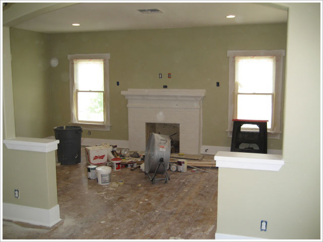 The Interior Is Nearing Completion I Finished Trim Carpentry This Week Hanging Doors For Pantry And Laundry Putting In Kitchen Baseboards To