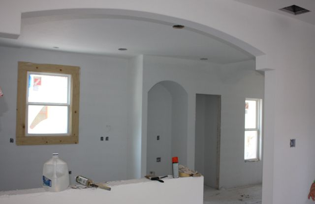 Interior paint for House inside arch design